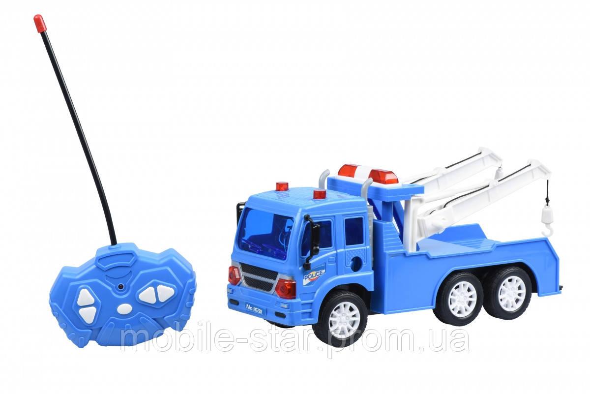Машинка на р/у Same Toy CITY Полицейский эвакуатор 1631Ut