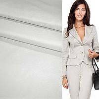 Полівіскоза костюмна стрейч сіра світла ш.150 (13501.007)