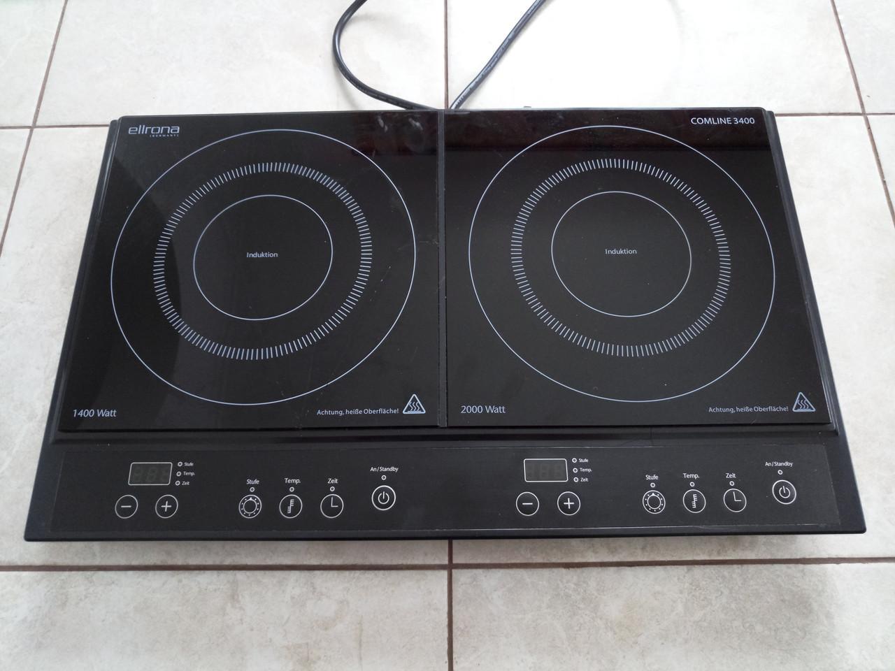 Индукционная плита 3400W