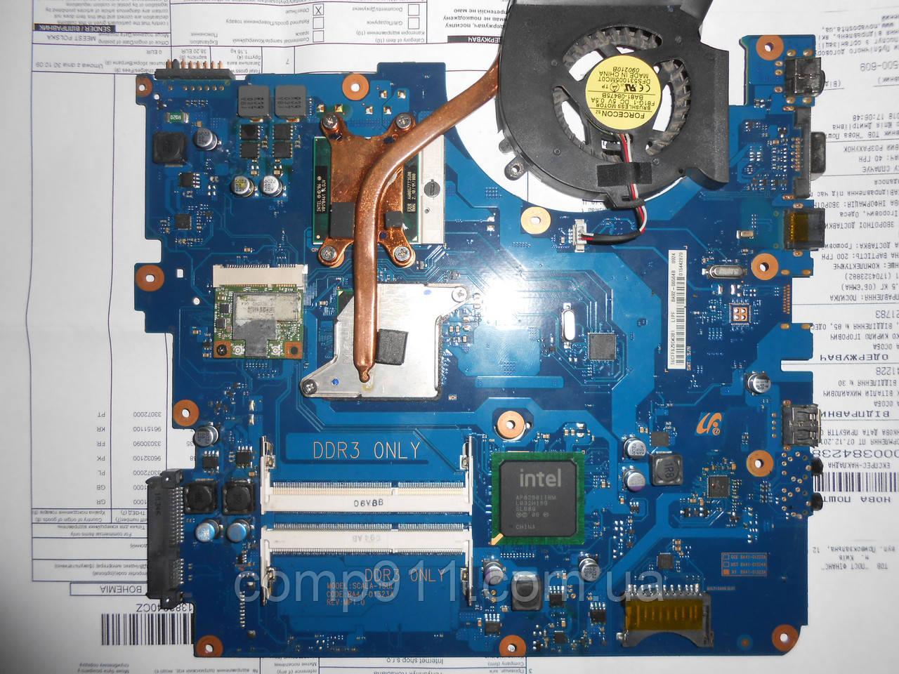 Материнская плата ноутбука NP-RV508, RV510, SCALA-15UL rev:mp1.0.