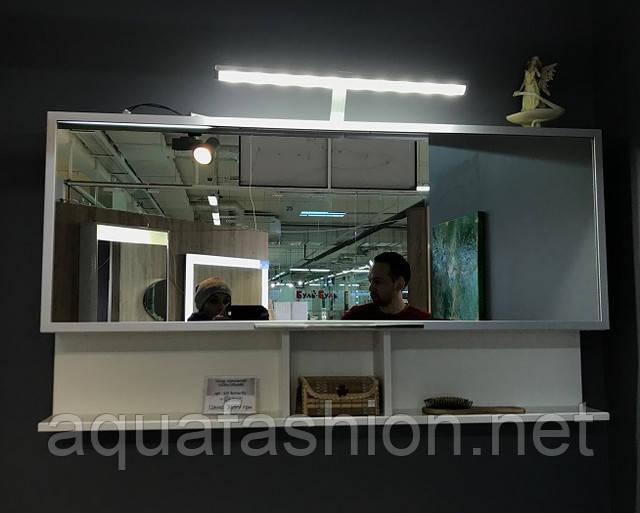 Зеркальный шкаф для ванной комнаты Буль-Буль ШЗ-Butterfly Венге 1205650125