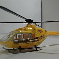 Вертолёт металлический 1:12 Жёлтый
