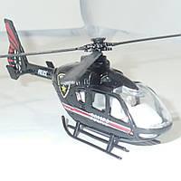 Вертолёт металлический 1:12 Чёрный