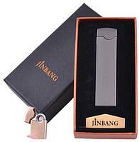 USB зажигалка  Jinbang (Двухсторонняя спираль накаливания) №XT-4881-1