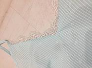 Мятный  пеньюар с кружевом, фото 4