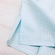 Хлопковая пижама шорты рубашка, фото 3
