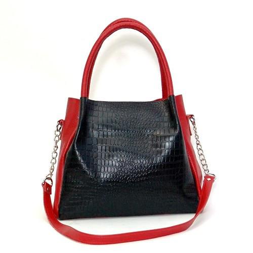 d222fbfbcb60 Кожаная женская сумка Верона красная - Интернет-магазин TUTTOSALE в  Василькове