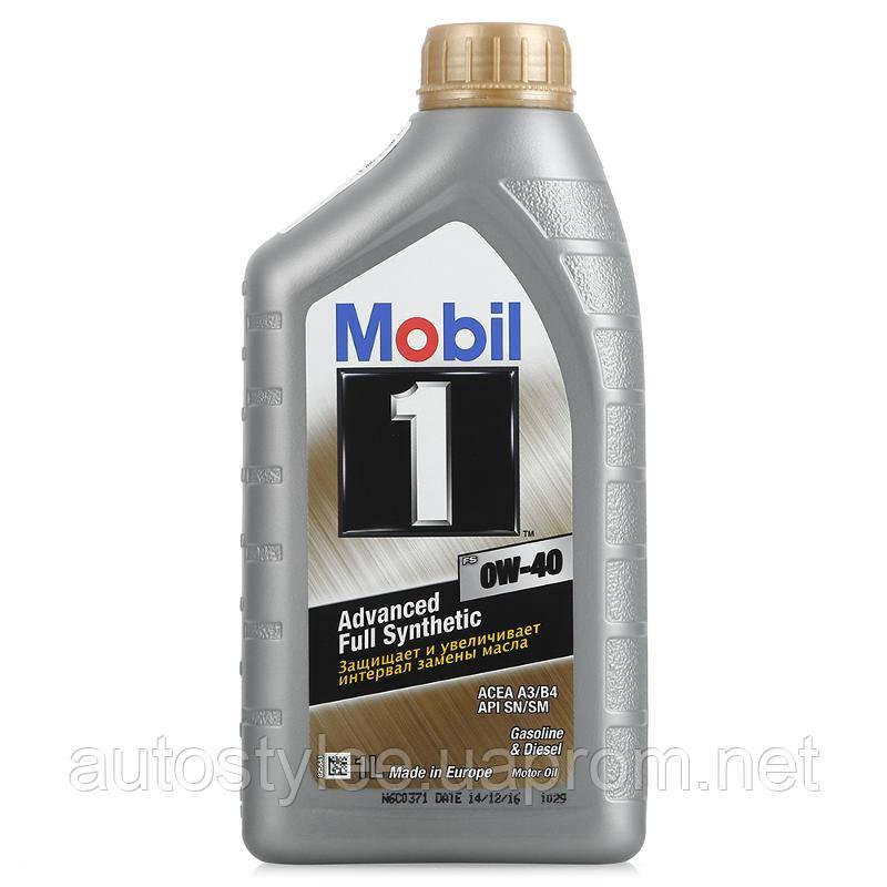 Масло моторное Mobil 1 FS 0W-40 1 л.