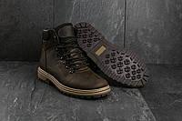 Зимние мужские ботинки Columbia ( натуральная кожа + мех  ) , 41 - 45 р