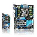 "Материнская плата ASUS P9X79 PRO X79/2011/DDR3 ""Over-Stock"" Б/У, фото 4"