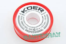 Фум лента для воды Koer STP-01