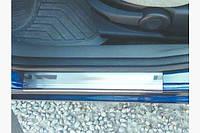 Накладки на пороги (4 шт) - Ford Fusion 2002-2009 гг.