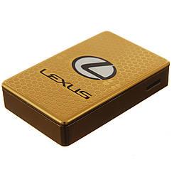 Электроимпульсная USB зажигалка LEX1 Золотистая 6842955512, КОД: 118986