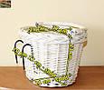 Плетенная корзина White, фото 3