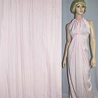 Поплін жатий блідо-рожевий ш.140 (14018.001)