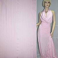Поплін жатий рожевий ш.140 (14018.002)