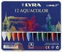 Набір воскових крейд Aquacolor Metal Box, 12кол