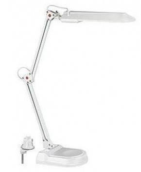 Настольная лампа на струбцине MAGNUM NL011 белая G23, фото 2