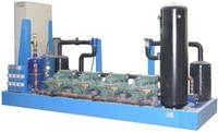 Мультикомпрессорные станции (холодильные централи) на базе компрессоров 4PC-10.2Y Bitzer
