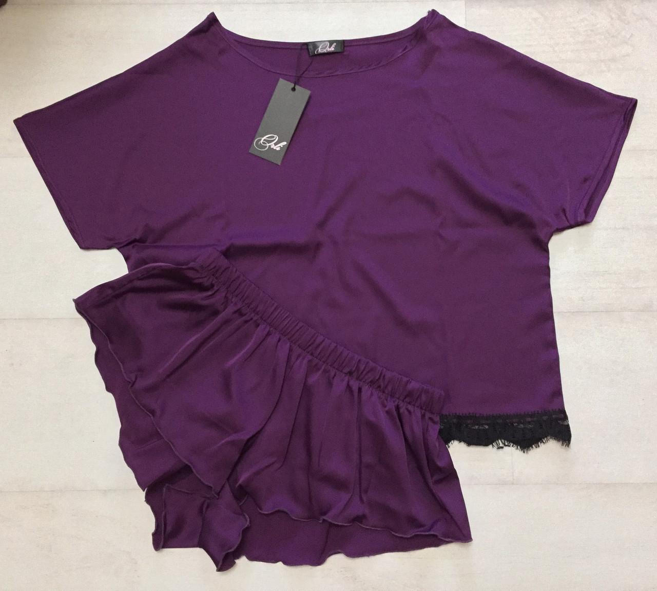 Женский  комплект футболка и шортики
