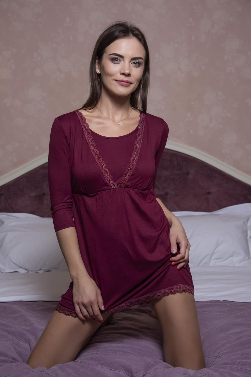 Домашнее вискозное платье
