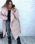 Женская зимняя куртка-палатка (6 цвета), фото 4
