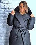 Женская зимняя куртка-палатка (6 цвета), фото 7