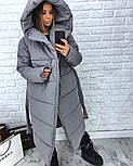Женская зимняя куртка-палатка (6 цвета), фото 6