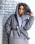 Женская зимняя куртка-палатка (6 цвета), фото 9