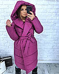 Женская зимняя куртка-палатка (6 цвета), фото 10