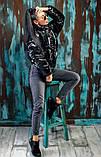 Куртка зимняя черная, фото 2