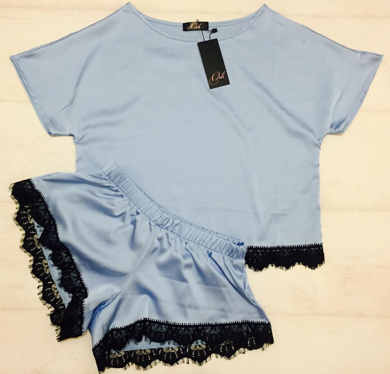 Женский комплект для дома футболка и шортики