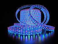 Дюралайт светодиодная лента уличная 100 м, RGB, круглый