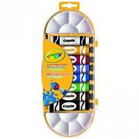 8 красок в тюбике с кисточкой для рисования, Crayola (7407)