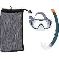 Набор для сноркелинга маска, трубка 500 Subea
