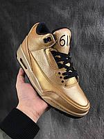 Кроссовки Nike Air Jordan 3 х OVO реплика