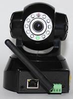 Поворотная IP WiFi видеокамера с ночной сьемкой