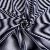 Тканина сорочкова в синьо-сіру смужку 2мм, ш.150 (14217.003)