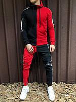 Мужской спортивный костюм (красный)