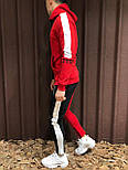 😜Мужской спортивный костюм (красный), фото 3