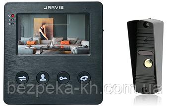 Комплект видеодомофона   Jarvis JS-4B Kit