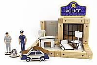 Конструктор Zeus полицейский участок 48 деталей, КОД: 118003