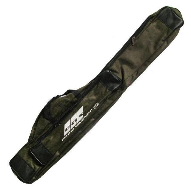 Чехол для удилищ с карманом под катушку EOS 130 см (2 отделения)