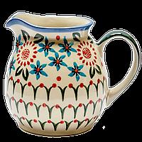 "Кувшин керамический ""K"" 0,5L Mosaic flower, фото 1"