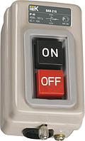 Выключатели кнопочные ВКИ