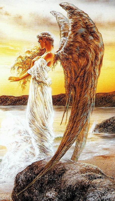 """Набор алмазной вышивки (мозаики) """"Прекрасный Ангел"""""""