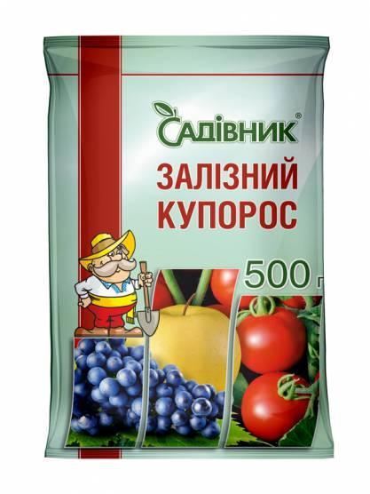 Фунгицид Железный купорос, Garden club  500 грамм