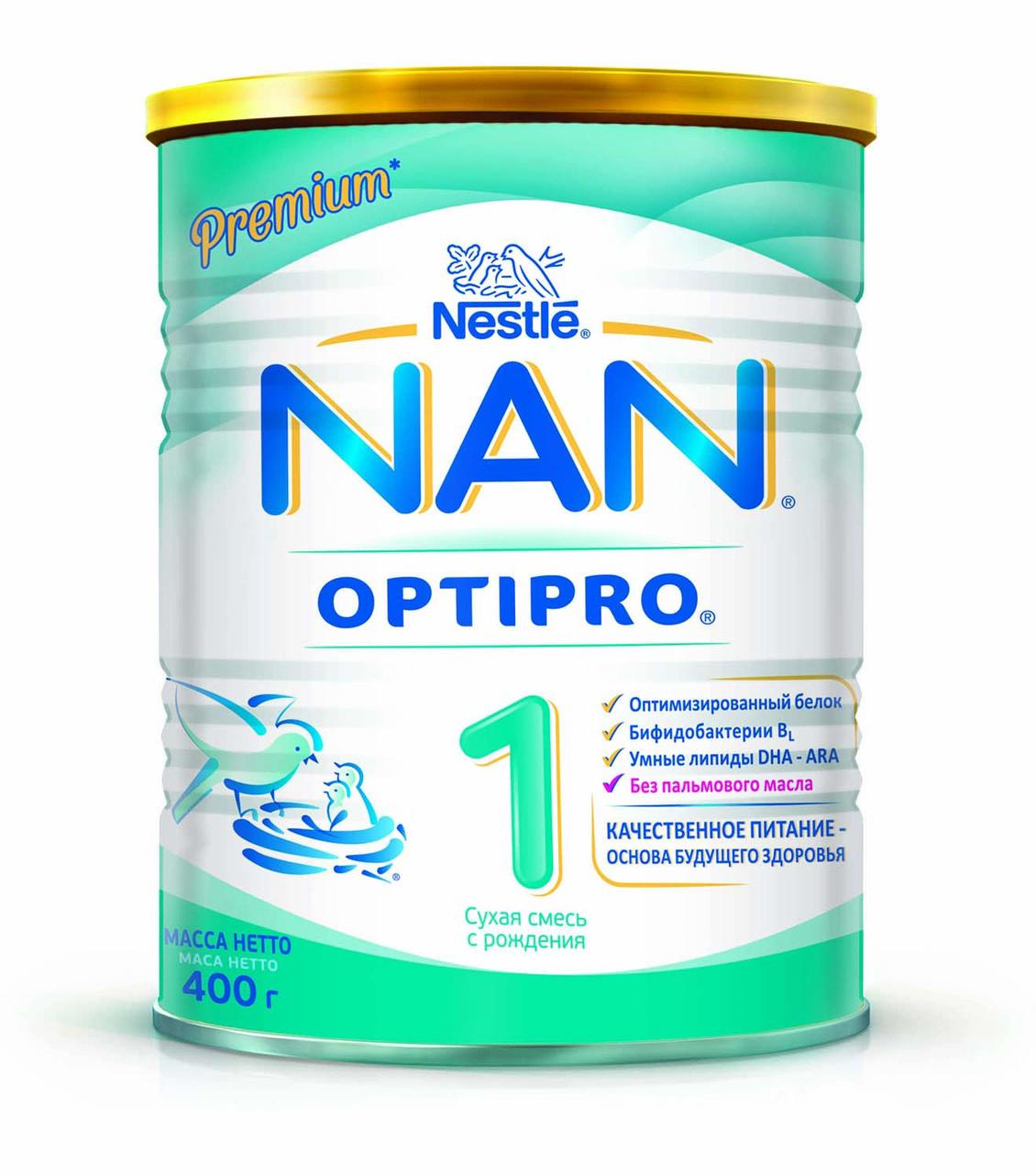Смесь молочная NAN Optipro 1,  400 гр