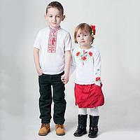 Детские вышиванки и вышитые футболки.
