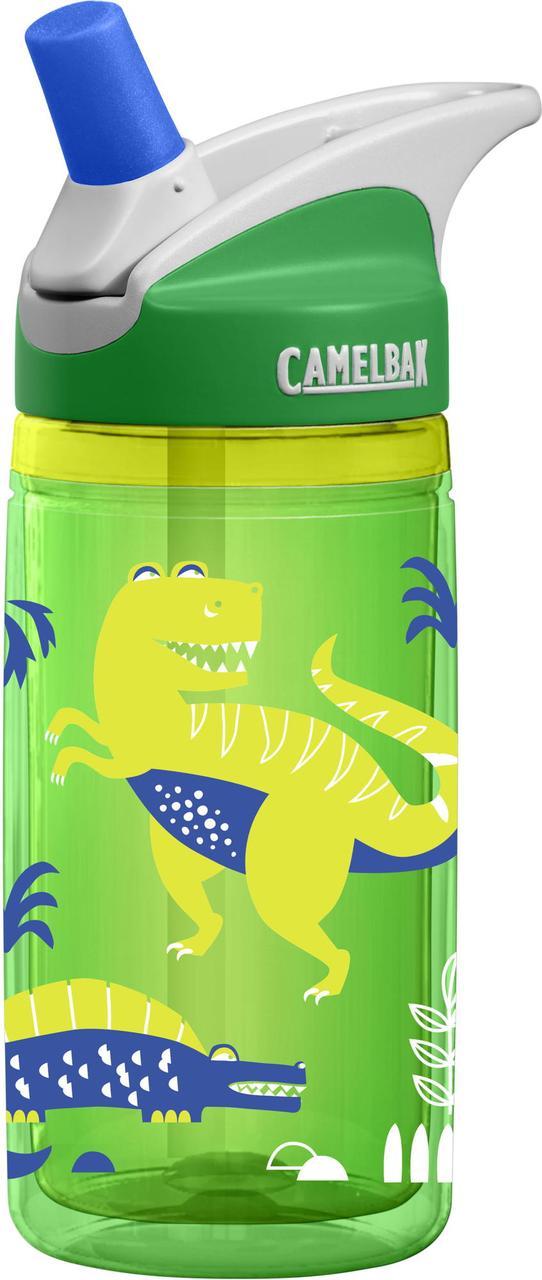 Дитяча термобутылка CamelBak eddy Kids Insulated 0.4 L Green Dinos